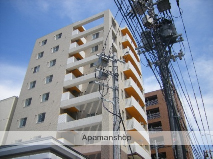 北海道札幌市中央区、西18丁目駅徒歩4分の築9年 10階建の賃貸マンション