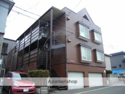 北海道札幌市西区、宮の沢駅JRバスバス15分西野小学校前下車後徒歩3分の築26年 3階建の賃貸アパート