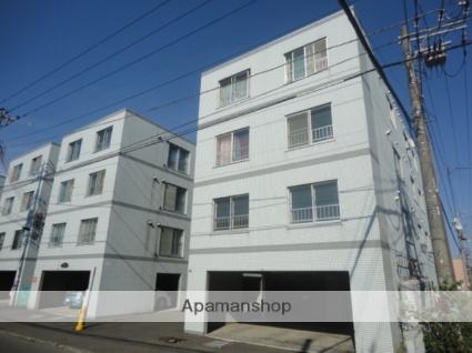 北海道札幌市西区、発寒中央駅徒歩18分の築27年 4階建の賃貸マンション
