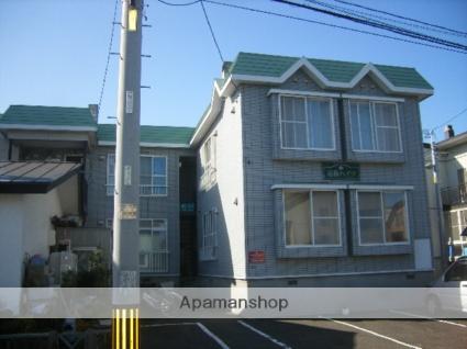 北海道札幌市西区、八軒駅徒歩16分の築29年 2階建の賃貸アパート