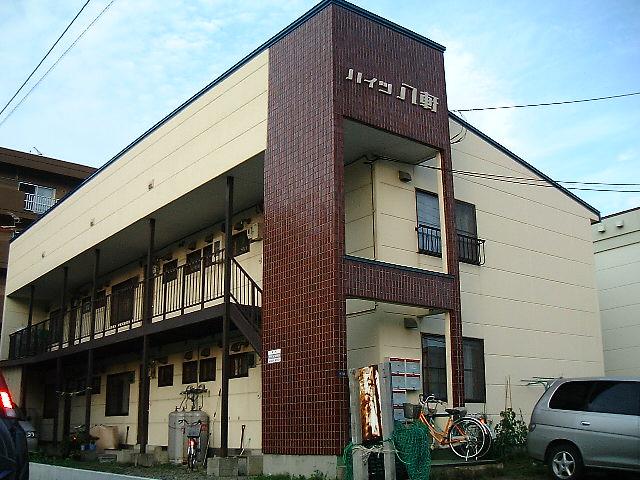 北海道札幌市西区、琴似駅JRバスバス7分新川通下車後徒歩5分の築32年 2階建の賃貸アパート