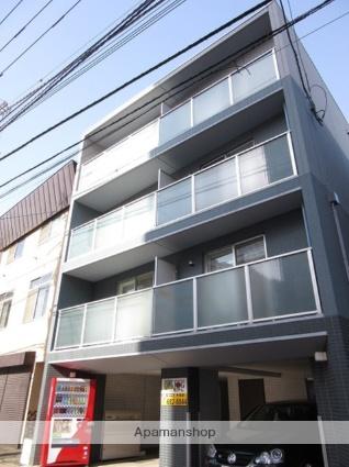 北海道札幌市手稲区、手稲駅徒歩4分の築3年 4階建の賃貸アパート