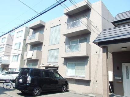 北海道札幌市中央区、西28丁目駅徒歩4分の築14年 3階建の賃貸マンション