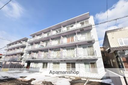 北海道札幌市西区、発寒中央駅徒歩13分の築27年 4階建の賃貸マンション