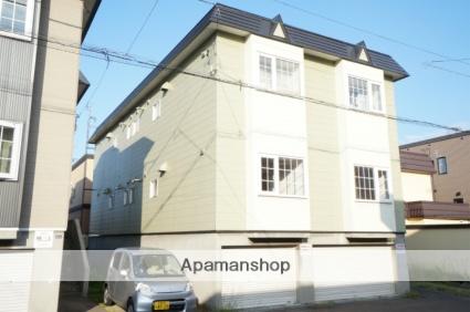 北海道札幌市手稲区、稲積公園駅徒歩14分の築25年 2階建の賃貸アパート