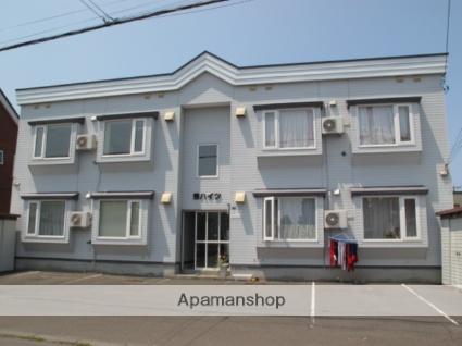 北海道札幌市手稲区、手稲駅JRバスバス10分共栄橋下車後徒歩5分の築23年 2階建の賃貸アパート
