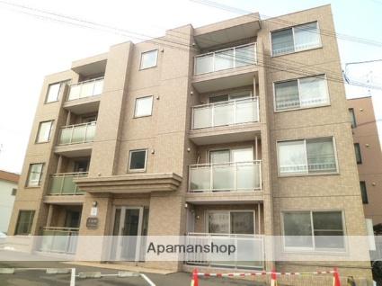 北海道札幌市西区、札幌駅中央バスバス17分北22西15下車後徒歩4分の築10年 4階建の賃貸マンション