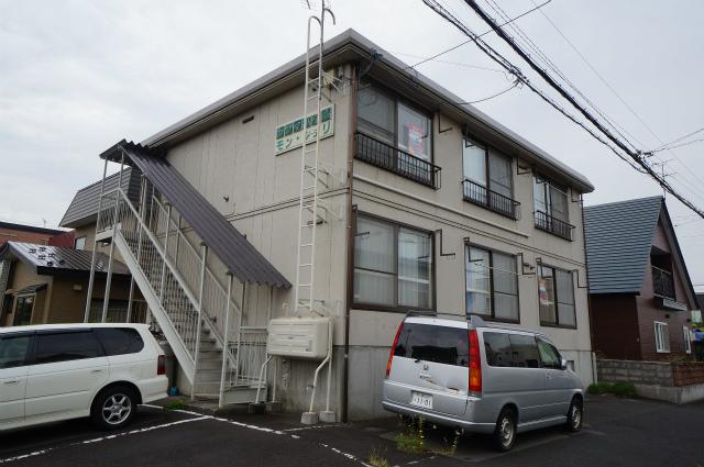 北海道札幌市手稲区、手稲駅徒歩26分の築25年 2階建の賃貸アパート