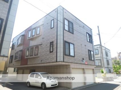 北海道札幌市西区、琴似駅徒歩12分の築13年 3階建の賃貸アパート