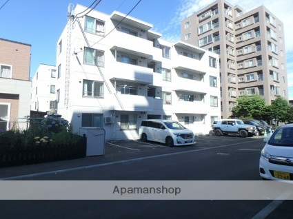 北海道札幌市西区、琴似駅徒歩16分の築4年 4階建の賃貸マンション