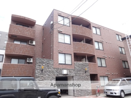 北海道札幌市中央区、西28丁目駅徒歩10分の築13年 4階建の賃貸マンション