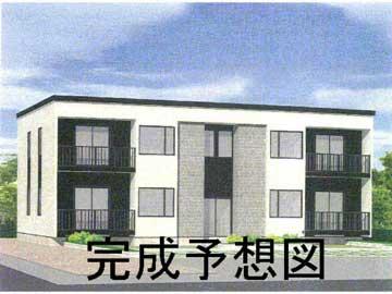 北海道札幌市西区、発寒中央駅徒歩25分の築9年 2階建の賃貸アパート