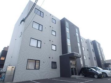 北海道札幌市手稲区、稲積公園駅徒歩4分の築8年 4階建の賃貸マンション