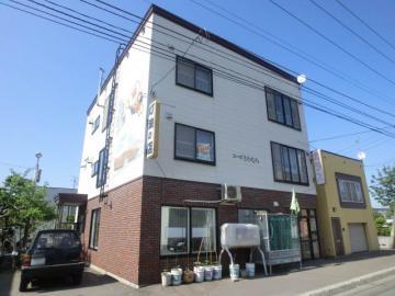 北海道札幌市手稲区、星置駅徒歩29分の築23年 3階建の賃貸アパート