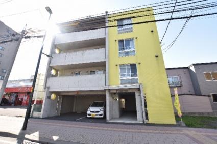 北海道札幌市西区、発寒中央駅徒歩13分の築13年 4階建の賃貸マンション