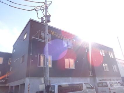 北海道札幌市西区、稲積公園駅バス11分発寒駅通下車後徒歩5分の新築 3階建の賃貸アパート