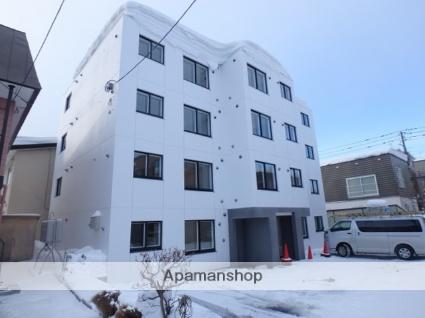 北海道札幌市西区、発寒中央駅徒歩11分の築1年 4階建の賃貸マンション