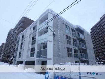 北海道札幌市西区、琴似駅徒歩5分の新築 4階建の賃貸マンション