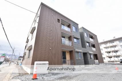 北海道札幌市西区、発寒中央駅徒歩11分の新築 3階建の賃貸アパート