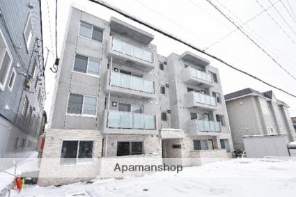 北海道札幌市西区、琴似駅徒歩20分の新築 4階建の賃貸マンション