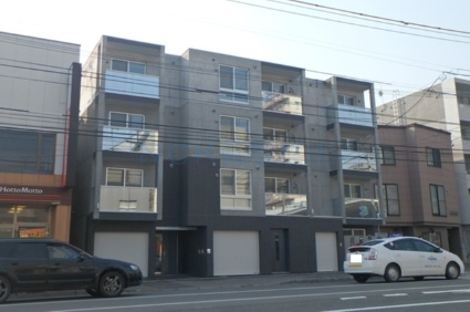北海道札幌市西区、琴似駅徒歩19分の新築 4階建の賃貸マンション