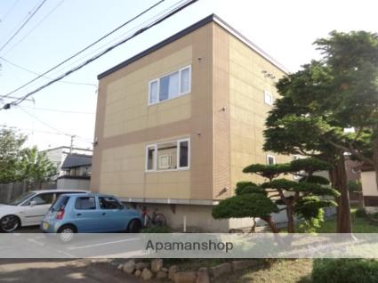 北海道札幌市西区、琴似駅徒歩13分の築21年 2階建の賃貸アパート