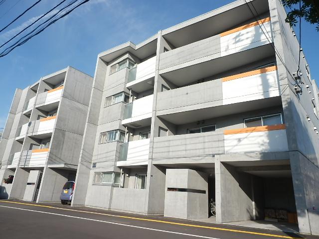 北海道札幌市中央区、二十四軒駅徒歩7分の築6年 4階建の賃貸マンション