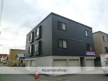 北海道札幌市西区、琴似駅徒歩16分の築7年 3階建の賃貸アパート
