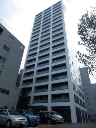 北海道札幌市西区、琴似駅徒歩12分の築4年 19階建の賃貸マンション