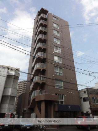 北海道札幌市中央区、西28丁目駅徒歩12分の築16年 10階建の賃貸マンション