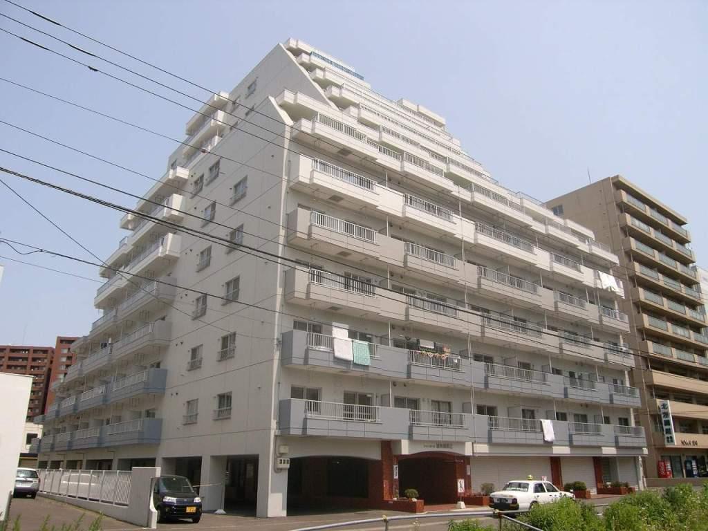 北海道札幌市中央区、札幌駅徒歩10分の築33年 12階建の賃貸マンション