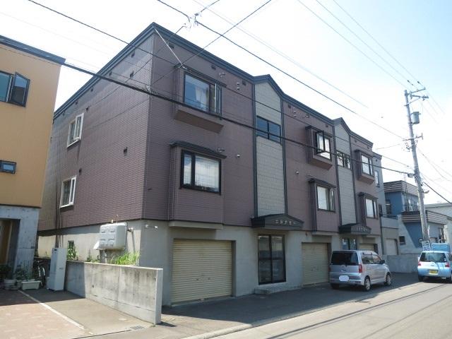 北海道札幌市西区、琴似駅徒歩20分の築19年 3階建の賃貸アパート