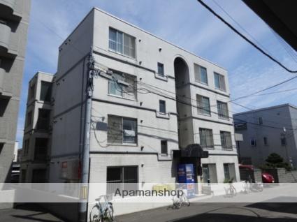 北海道札幌市西区、琴似駅徒歩6分の築31年 4階建の賃貸マンション