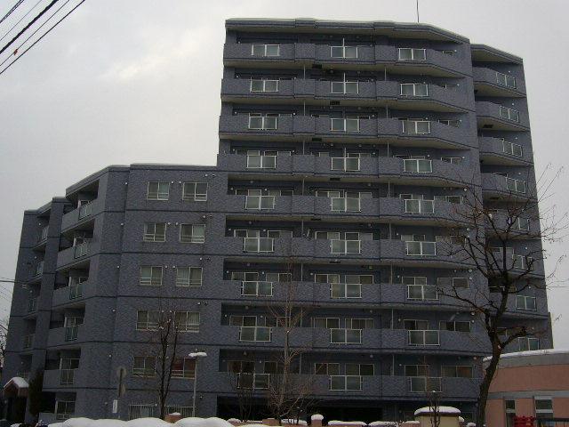 北海道札幌市中央区、西28丁目駅徒歩4分の築18年 10階建の賃貸マンション