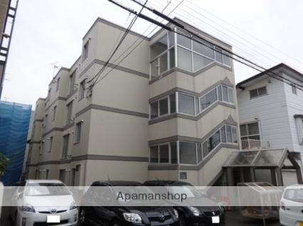 北海道札幌市中央区、二十四軒駅徒歩10分の築27年 4階建の賃貸マンション