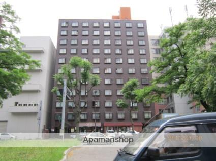 北海道札幌市中央区、西11丁目駅徒歩8分の築42年 11階建の賃貸マンション