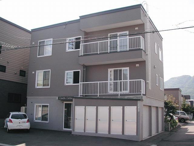 北海道札幌市手稲区、手稲駅徒歩30分の築12年 3階建の賃貸アパート