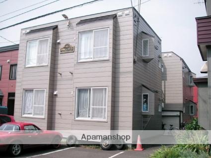 北海道札幌市手稲区、手稲駅徒歩20分の築28年 2階建の賃貸アパート