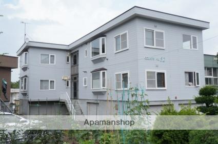 北海道札幌市手稲区、手稲駅徒歩15分の築26年 2階建の賃貸アパート