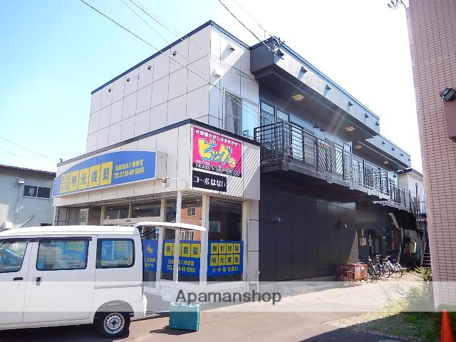 北海道函館市、五稜郭駅徒歩15分の築24年 2階建の賃貸アパート