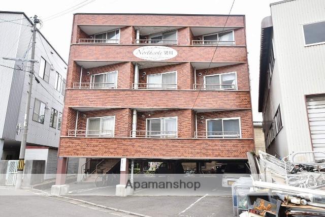 北海道函館市、五稜郭公園前駅徒歩7分の築36年 4階建の賃貸マンション