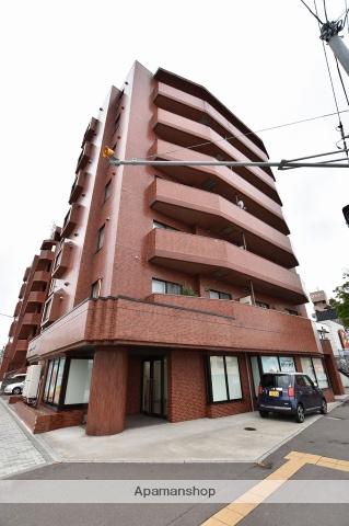 北海道函館市、杉並町駅徒歩14分の築27年 7階建の賃貸マンション