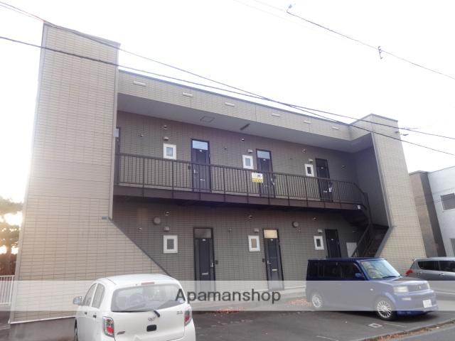 北海道函館市、市民会館前駅徒歩9分の築19年 2階建の賃貸アパート