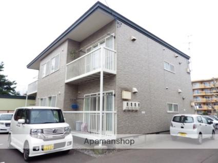 北海道函館市、五稜郭駅徒歩17分の築15年 2階建の賃貸アパート