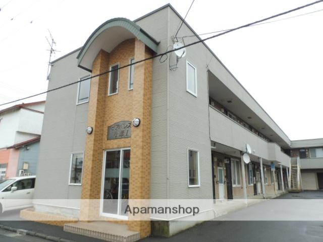 北海道函館市、柏木町駅徒歩3分の築16年 2階建の賃貸アパート