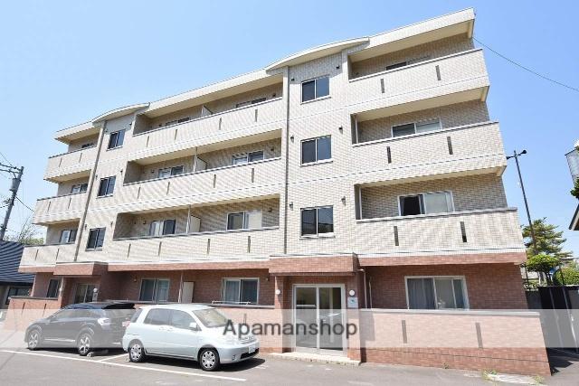 北海道函館市、湯の川駅徒歩7分の築6年 4階建の賃貸マンション