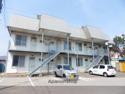 北海道函館市、湯の川温泉駅徒歩18分の築27年 2階建の賃貸アパート