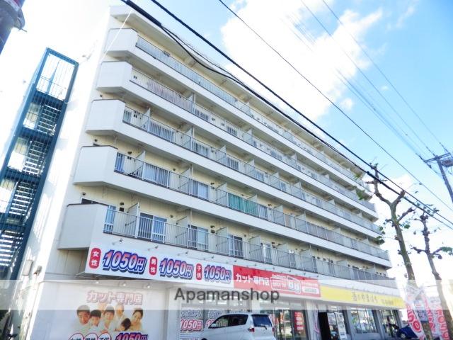 北海道函館市、五稜郭公園前駅徒歩17分の築33年 6階建の賃貸マンション