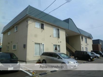 北海道函館市、堀川町駅徒歩18分の築30年 2階建の賃貸アパート