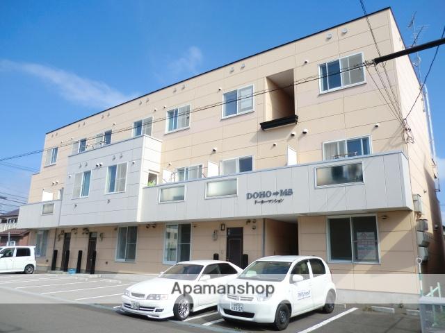北海道北斗市、久根別駅徒歩13分の築20年 3階建の賃貸アパート